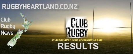 New Zealand Club Rugby results for 8 April