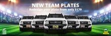 Rugby plates now available