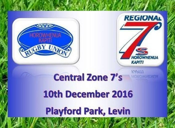 Central 7s tournament in Levin on Saturday