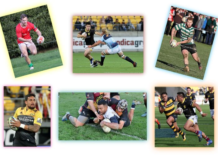 Club Rugby's 2017 Wellington Team of the Year
