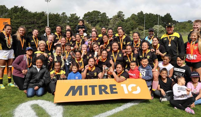 Wellington Pride and Moata'a win Porirua Park silverware