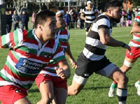Old and new faces in a club rugby XV