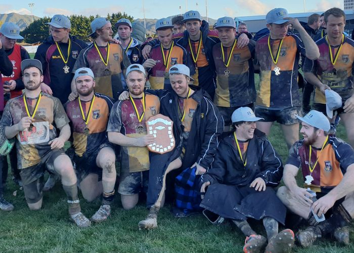 Club rugby titles to the Upper Hutt Rams, Wellington and HOBM