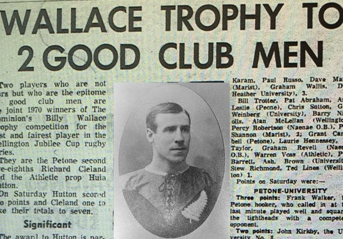 50 years of the Billy Wallace Trophy: Part 1