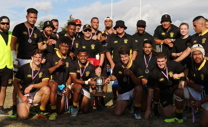 Wellington and Manawatu win Central Region Sevens