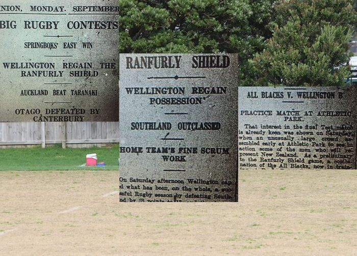 The day Wellington teams re-took the Ranfurly Shield off Southland and beat the All Blacks